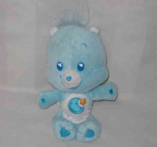"Sweet 7"" CARE BEARS Baby Bedtime Bear"