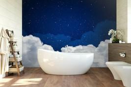 3D Night Sky PKE345 Business Wallpaper Wall Mural Self-adhesive Commerce... - $13.49+