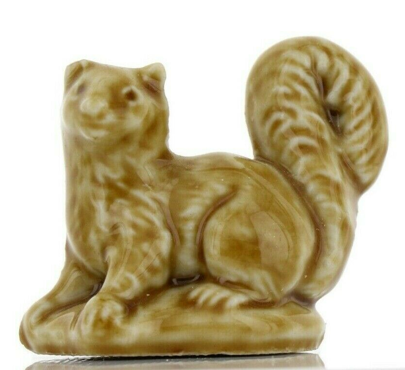 Pine Marten Miniature Porcelain Figurine - Whimsies by Wade