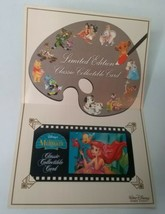 Exclusive Disney The Little Mermaid Limited Edition Collectible Card Sun... - $49.48