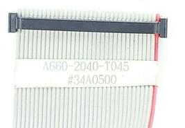 FANUC A660-2040-T045 CABLE FLAT #34A0500 image 2