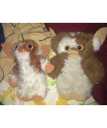"VTG LOT 2 11"" 1980's Gremlins GIZMO Mogwai Plush Applause Hasbro Softies... - $61.70"