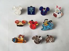 Disney Trading Pins Official Character Park Rides + Bonus Collectible Lo... - $23.43