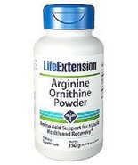 Life Extension Arginine Ornithine Powder Support for Muscle Health 150g ... - $16.83