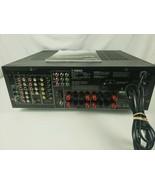 Yamaha HTR 5840 6.1 Channel 350 Watt 60Hz Sound AV Receiver w/Manual No ... - $111.84