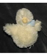 "Bunnies by the Bay Stuffed plush yellow chick duck with rattle 6"" fuzzy ... - $14.35"