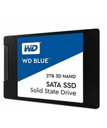"""WD WDS200T2B0A Blue 3D NAND 2TB PC SSD - SATA III 6 Gb/s 2.5""""/7mm for PC... - $296.99"""