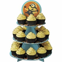Despicable Me 3 Treat Stand 24 Cupcake Holder Party Centerpiece Wilton - $7.91