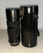 Quantaray Auto Zoom 85-210mm F:3.8 Macro Camera Lens No.042092G w/ case - $4.95