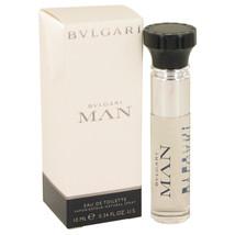 Bvlgari Man by Bvlgari Mini EDT Spray .33 oz for Men - $16.95