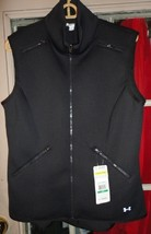 1 new under armour allseasongear spacer vest black size L large fitted - $60.00