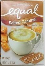 Equal Zero Sweetener Salted Caramel 1 Box 80 Packs - $9.75