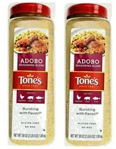 2X Tone's Adobo Seasoning Blend for Chicken Pork Fish TOTAL 4LB 12OZ BB:Sep/2021 - $44.54
