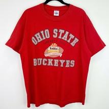 Tostitos Fiesta Bowl 2003 Ohio Buckeyes T-Shirt Tee Top Shirt Size Large Mens - $13.56