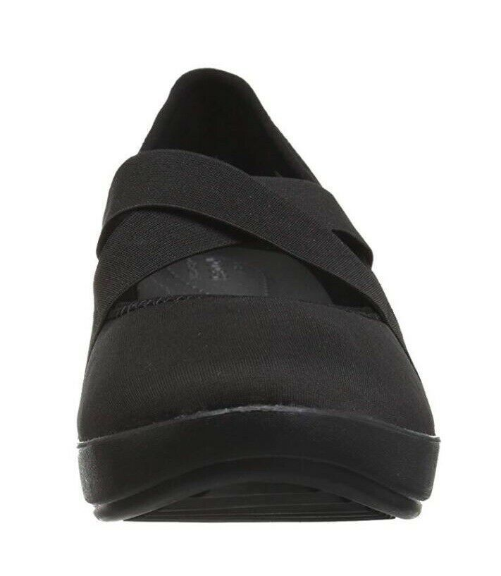 New Crocs Women's Busy Day Strappy Wedge Shoes Black Variety Size image 4