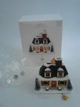 Hallmark 2007 Up on the Housetop Santa Claus House Magic Christmas Ornament - $24.99