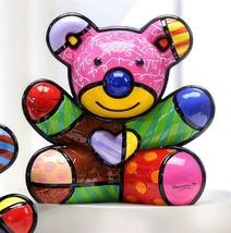 Romero Britto Fun Bear Design Figurine Rare Collectible Numbered XXX/4000