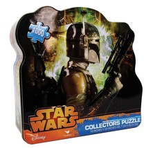 2 Pc Disney Star Wars Boba Fett and Storm Trooper Collect Puzzle Tin 100... - $14.84