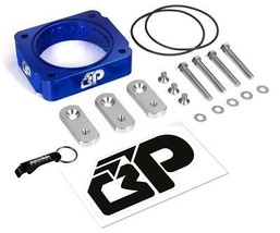 Fits 1996-2004 Ford Mustang GT Crown Victoria Blue Throttle Body Spacer Kit - $86.40