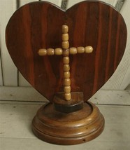 Nice Hand Crafted Wooden Sculpture, VERY GOOD CONDITION - $19.79