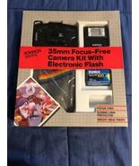 1988 Disney 15 Years - Rokinon 35mm Camera Kit w/Film, Camera, Flash & B... - $29.39