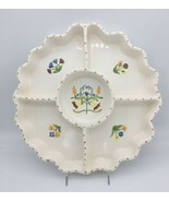 Bird In Hand Divided Serving Dish Relish Tray Chip and Dip Sigma by Andr... - $29.95