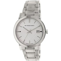 Burberry Silver Dial Stainless Steel Quartz Men's Watch BU9000 - $145.00