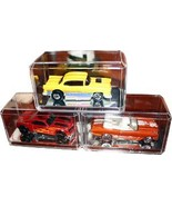 Nascar 1:64 Crystal Clear Display Case with Mirror Base-Case of 6 - $21.95