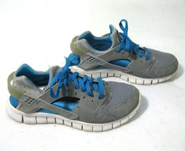 NIKE Huarache Free Mens Blue Gray Athletic Running Shoes (Size 7) Lightw... - $19.95