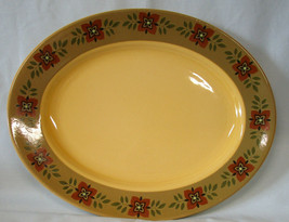"Taylor Smith & Taylor Ironstone Casa Madrid Oval Platter 13 1/2"" - $35.53"