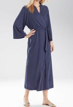 NATORI SHANGRI-LA ROBE Ht Night Blue Jersey Women's size M - $49.49