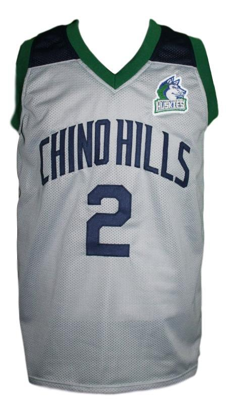 Lonzo ball  2 chino hills huskies basketball jersey grey   1