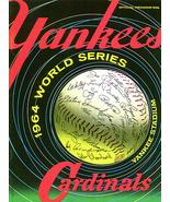 World series program cardinals vs yankees lon keller art autograph baseball lon keller thumbtall
