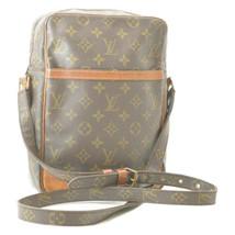 LOUIS VUITTON Monogram Danube 28 Shoulder Bag M45264 LV Auth cr349 Sticky - $190.67
