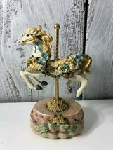 HERITAGE HOUSE CAROUSEL HORSE COUNTY FAIR COLLECTIONS MELODIES  - $10.40