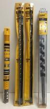 """(New) Dewalt  1/2"""", 1/8"""", 3/8"""", 7/8"""", 1""""  Drill Bit Set - $85.13"""