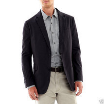 Claiborne Galaxy Grey Button-Front Blazer Sports Jacket Sizes 40, 42 - $29.99