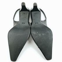 Sling Back Franco Sz Sarto Heel M 5 6 Black 4pqga4f