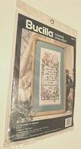 1991 Bucilla Counted Cross-Stitch Little Deeds Of Kindness Linda Gillum New - $22.76