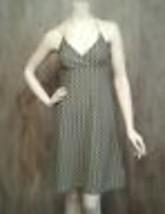 Ann Taylor Loft Womens Dress 2 Halter Top Side Zip Above Knee Shift Green - $21.65