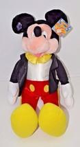 "Applause Mickey Mouse Satin Tuxedo NEW HUGE 27""  Plush Stuffed Animal - $48.31"