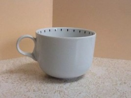 "Vntg Dansk Int'l Portuguese ""Ditto"" Pattern Black + White Cup - Replacement Cup - $14.50"
