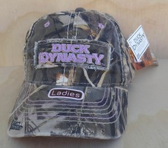 DUCK DYNASTY LADIES PINK & REALTREE MAX-4  ADJUSTABLE BALL CAP ONE SIZE ... - $6.99