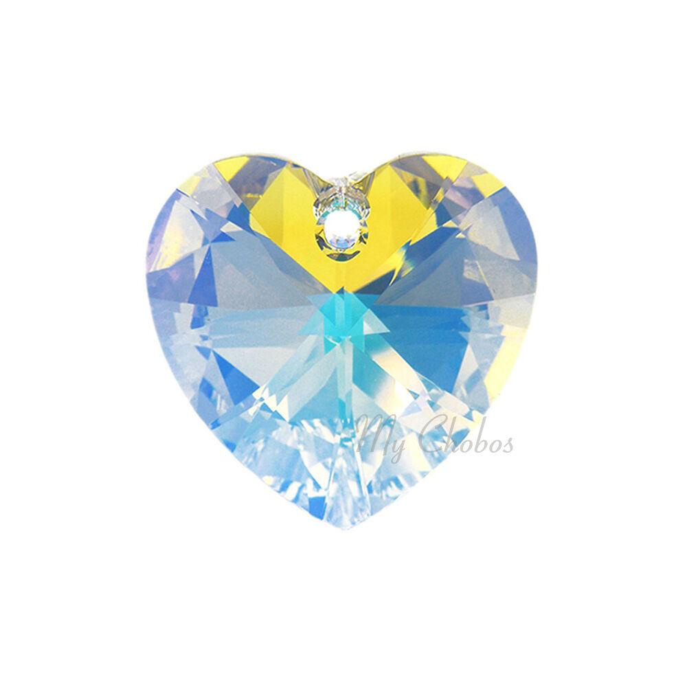 "Swarovski Pendants jewelry necklace making CRYSTAL AB (001 AB) ""Pick Your Shape"" image 6"