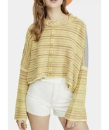 Free People Catalina Pullover Soft Sunset Combo Size Medium BNWTS $108.00 - $36.62