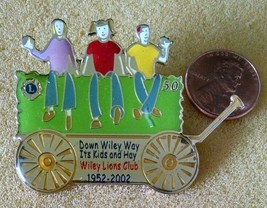 Wiley Lions club  pin 1952-2002. - $0.99