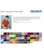 Gildan* T-SHIRTS BLANK BULK LOT Colors or White Plain S-XL Wholesale 50 - $17.79+