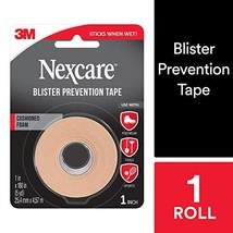 "Nexcare Blister Prevention Tape 1"" X 5 Yds"