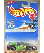 1996 Hot Wheels #405 Sports Car Series 2/4 CUSTOM CORVETTE Purple w/Chro... - $8.50