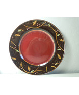 Demdaco Chocolate Berries Red Dinner Plate - $58.87